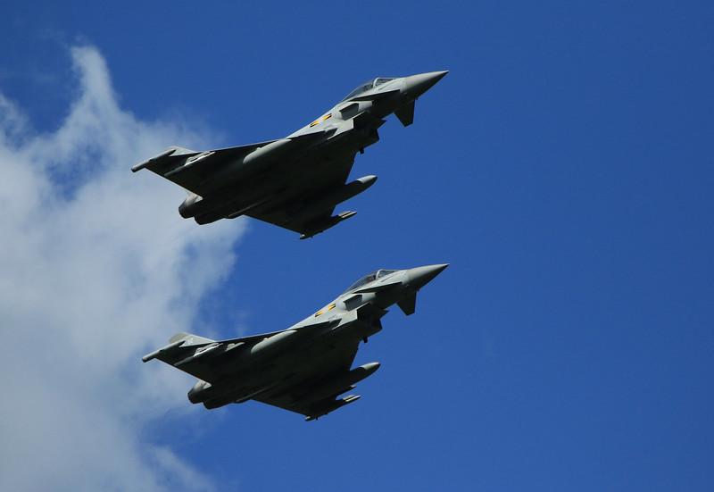 Eurofighter Typhoon - RAF 11th Squadron - RAF Coningsby (May 2016)