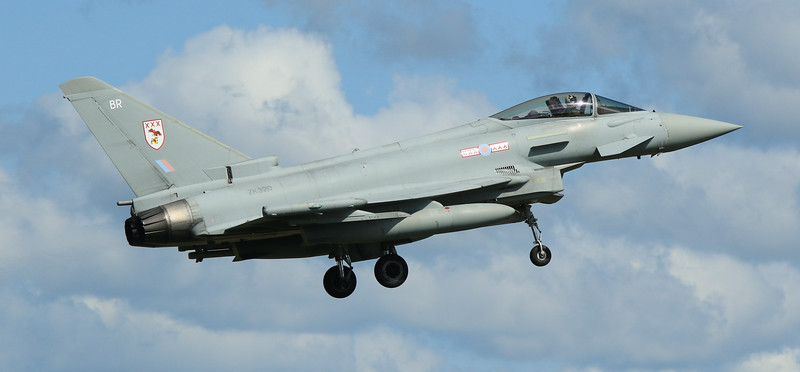 Eurofighter Typhoon - FGR4 - ZK320 - BR - 29th Sqn - RAF Coningsby (May 2016)