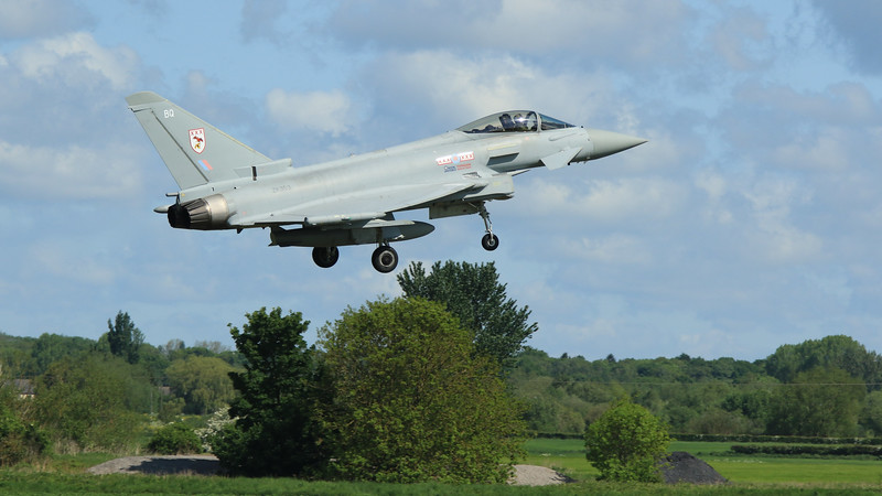 Eurofighter Typhoon - FGR4 - ZK353 - BQ - 29th Sqn - RAF Coningsby (May 2016)