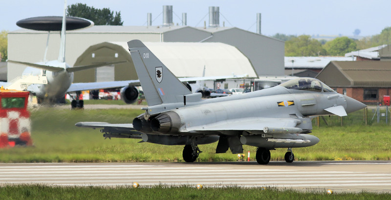 Eurofighter Typhoon - FGR4 - ZJ925 - DXI - 11th Sqn - RAF Coningsby (May 2016)