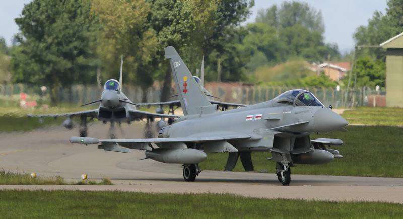 Eurofighter Typhoon - RAF 41st Squadron - RAF Coningsby (May 2016)
