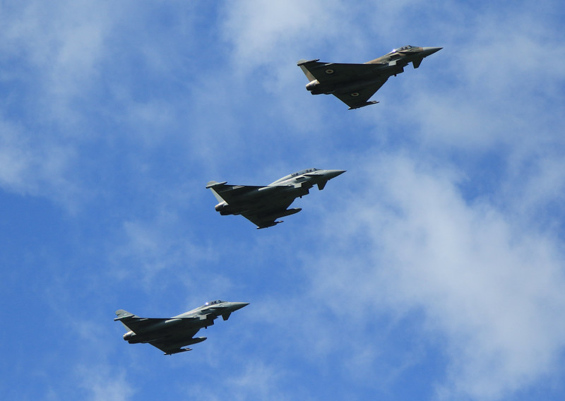 Eurofighter Typhoon - RAF 29th Squadron - RAF Coningsby (May 2016)