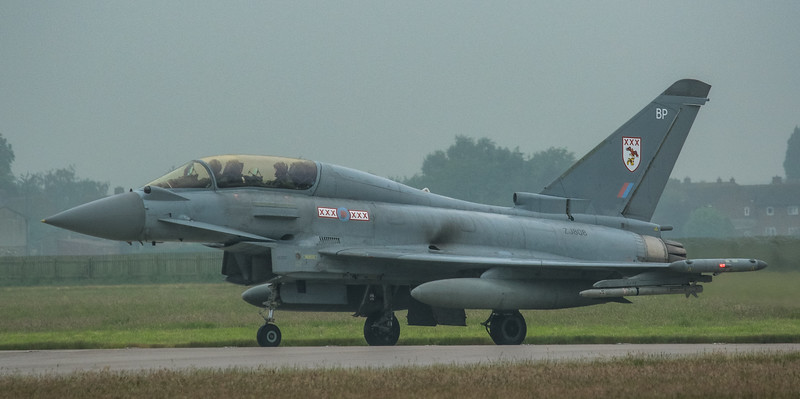 Eurofighter Typhoon - T3 - ZJ808 - BP - 29th Sqn - RAF Coningsby (May 2016)