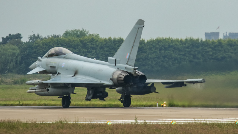 Eurofighter Typhoon - FGR4 - ZK313 - RAF Coningsby (June 2016)