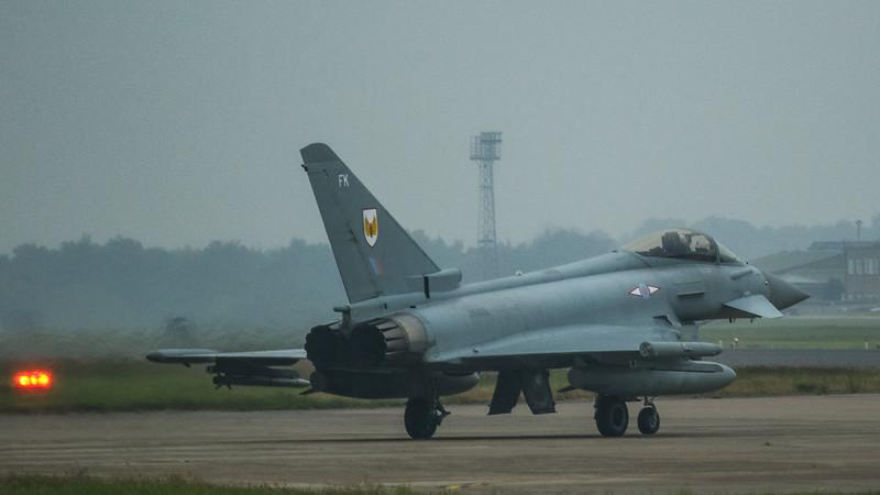Eurofighter Typhoon - FGR4 - ZK325 - FK - 1st Sqn - RAF Coningsby (June 2016)