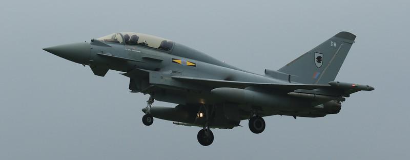 Eurofighter Typhoon - T3 - ZJ802 - DW - 11th Sqn - RAF Coningsby (June 2016)