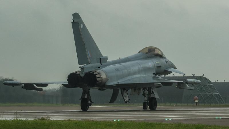 Eurofighter Typhoon - FGR4 - ZK352 - BV - RAF Coningsby (June 2016)