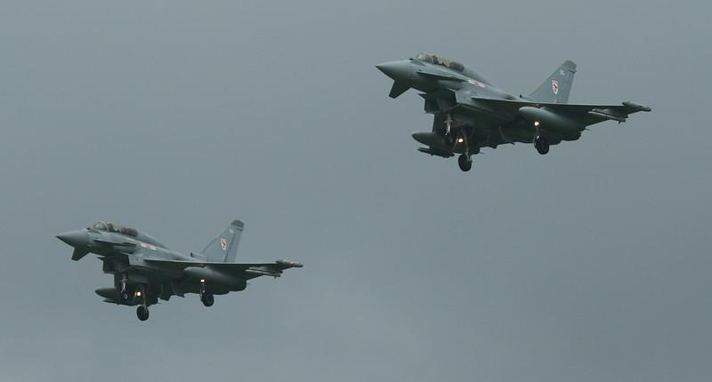 Typhoon - RAF 29th Squadron - RAF Coningsby (June 2016)