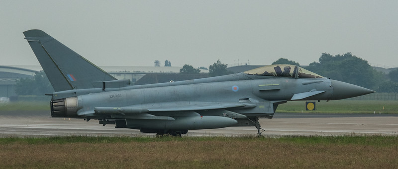 Eurofighter Typhoon - FGR4 - ZK341 - RAF Coningsby (June 2016)