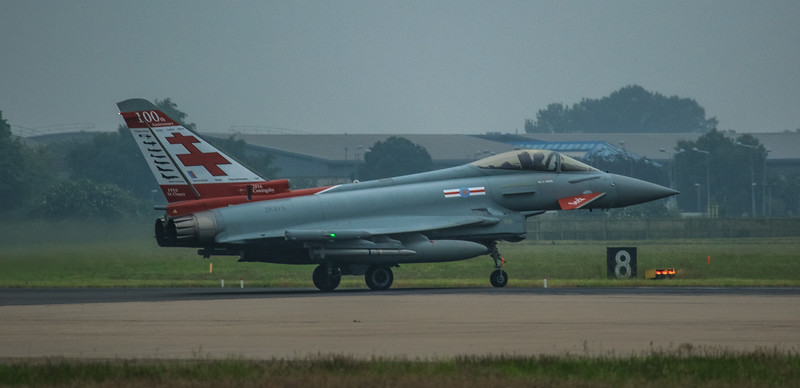 Eurofighter Typhoon - FGR4 - ZK315 - 100yr - 41st Sqn - RAF Coningsby (June 2016)