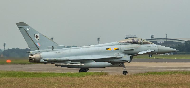 Eurofighter Typhoon - FGR4 - ZJ919 - DC - 11th Sqn - RAF Coningsby (June 2016)