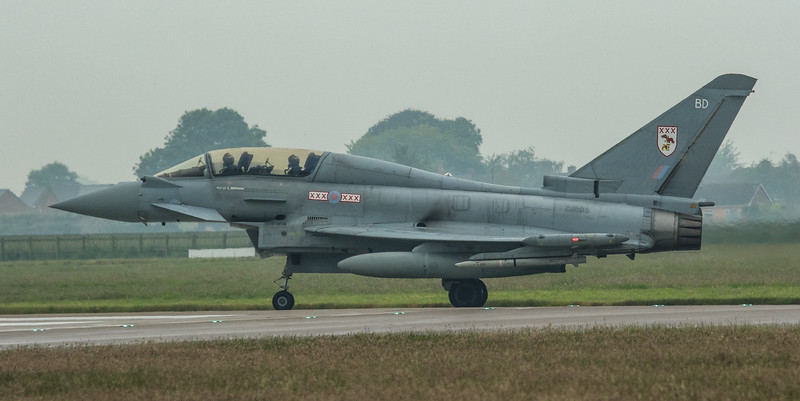 Eurofighter Typhoon - T3 - ZJ805 - BD - 29th Sqn - RAF Coningsby (May 2016)