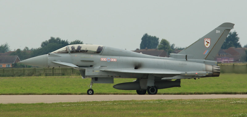 Eurofighter Typhoon - T3 - ZJ814 - BH - 29th Sqn - RAF Coningsby (July 2016)
