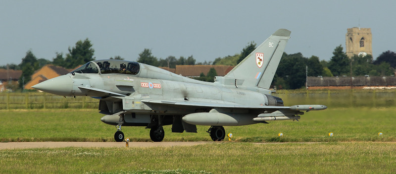 Eurofighter Typhoon - T3 - ZJ800 - BC - 29th Sqn - RAF Coningsby (July 2016)