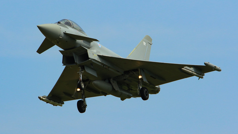 Eurofighter Typhoon - FGR4 - ZK354 - BY - RAF Coningsby (July 2016)