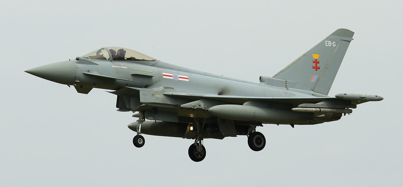 Eurofighter Typhoon - FGR4 - ZK335 - EB-G - 41st Sqn - RAF Coningsby (July 2016)