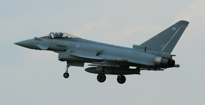 Eurofighter Typhoon - FGR4 - ZK352 - BV - RAF Coningsby (July 2016)