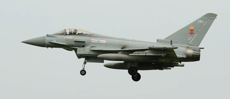 Eurofighter Typhoon - FGR4 - ZJ947 - EB-L - 41st Sqn - RAF Coningsby (July 2016)