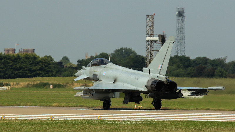 Eurofighter Typhoon - FGR4 - ZK313 - RAF Coningsby (July 2016)