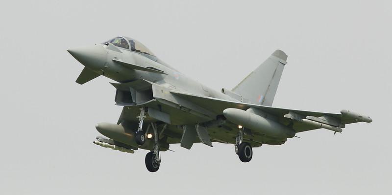 Eurofighter Typhoon - FGR4 - ZJ950 - RAF Coningsby (July 2016)
