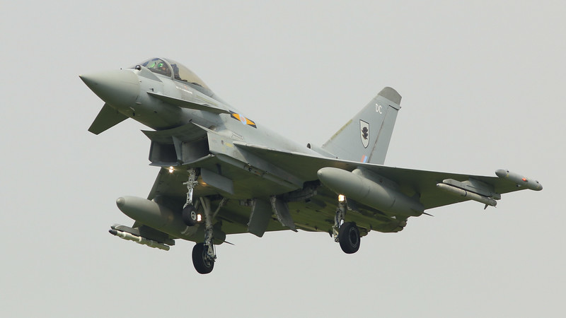 Eurofighter Typhoon - FGR4 - ZJ919 - DC - 11th Sqn - RAF Coningsby (July 2016)