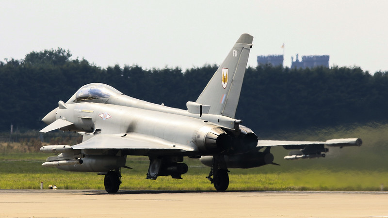 Eurofighter Typhoon - FGR4 - ZK325 - FK - 1st Sqn - RAF Coningsby (July 2016)