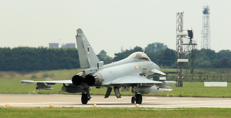 Eurofighter Typhoon - FGR4 - ZJ919 - DC - 11th Sqn - RAF Coningsby (July 2016)