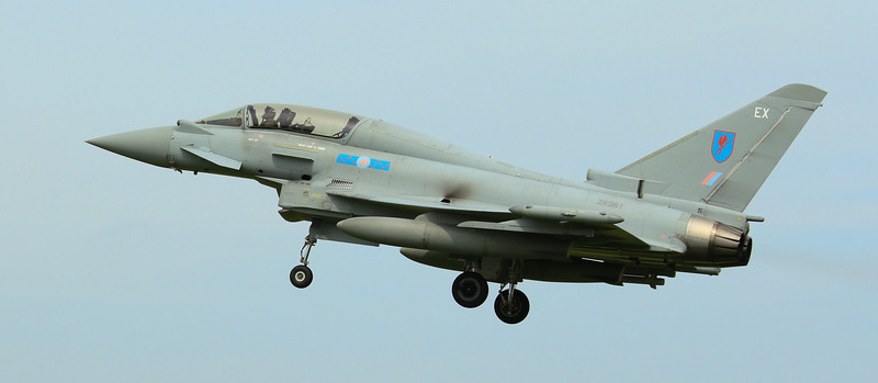 Eurofighter Typhoon - T3 - ZK381 - EX - 6th Sqn - RAF Coningsby (July 2016)
