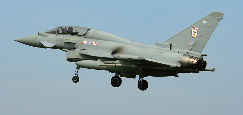 Eurofighter Typhoon - T3 - ZK382 - BG - 29th Sqn - RAF Coningsby (July 2016)