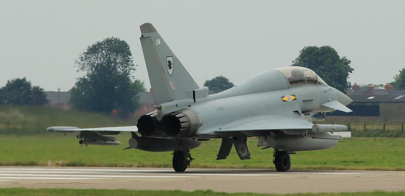 Eurofighter Typhoon - T3 - ZJ802 - DW - 11th Sqn - RAF Coningsby (July 2016)