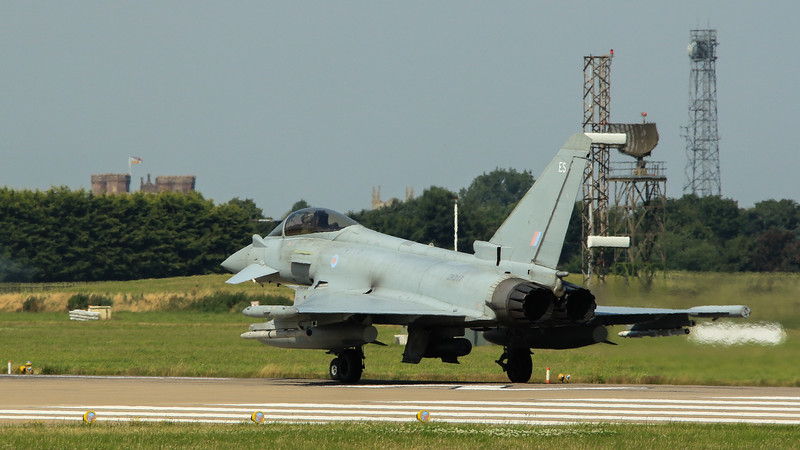 Eurofighter Typhoon - FGR4 - ZK317 - ES - RAF Coningsby (July 2016)