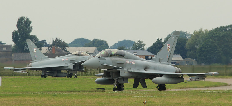 Eurofighter Typhoon - 29th Squadron - RAF Coningsby (July 2016)