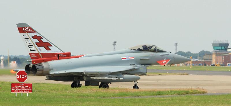 Eurofighter Typhoon - FGR4 - ZK315 - 100yr - 41st Sqn - RAF Coningsby (July 2016)