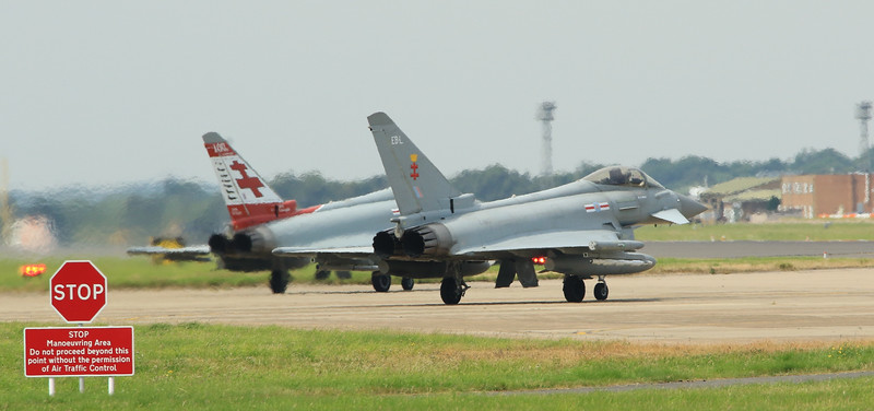 Eurofighter Typhoon - 41st Squadron - RAF Coningsby (July 2016)