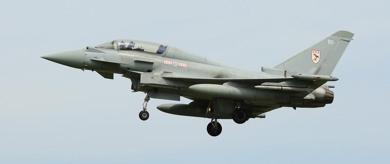 Eurofighter Typhoon - T3 - ZJ805 - BD - 29th Sqn - RAF Coningsby (July 2016)