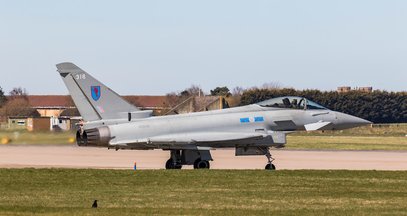 Eurofighter Typhoon - FGR4 - ZK316 - 316 - 6 Squadron - RAF Coningsby (April 2018)