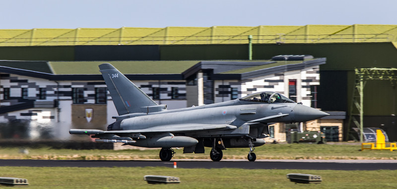 Eurofighter Typhoon - FGR4 - ZK344 - 344 - RAF Lossiemouth (May 2018)