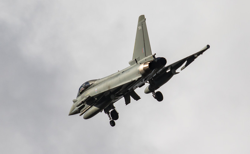 Eurofighter Typhoon - FGR4 - ZK366 - 366 - RAF Coningsby (February 2019)