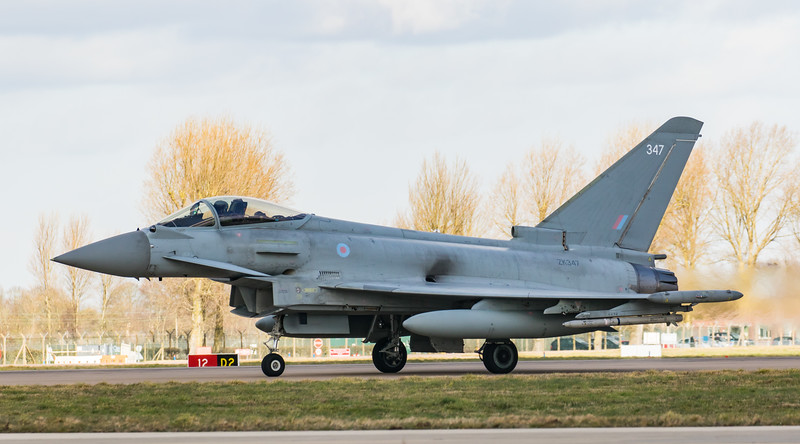 Eurofighter Typhoon - FGR4 - ZK347 - 347 - RAF Coningsby (February 2019)