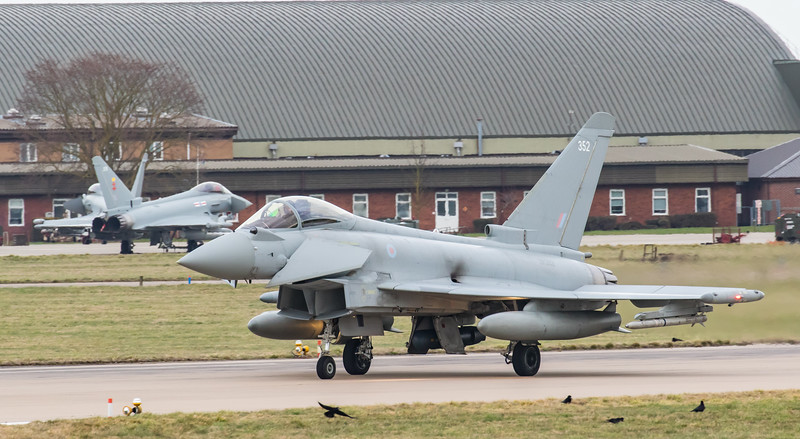 Eurofighter Typhoon - FGR4 - ZK352 - 352 - RAF Coningsby (February 2019)