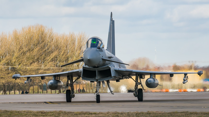 Eurofighter Typhoon - FGR4 - ZK354 - 354 - RAF Coningsby (February 2019)