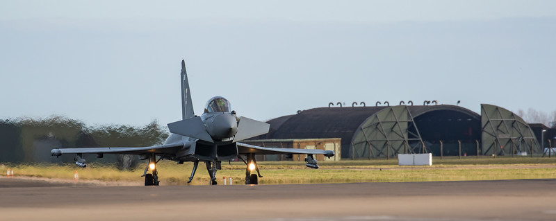 Eurofighter Typhoon - FGR4 - ZK365 - 365 - 41st Sqn - RAF Coningsby (February 2019)