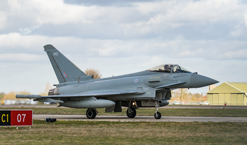 Eurofighter Typhoon - FGR4 - ZK342 - 342 - RAF Coningsby (February 2019)