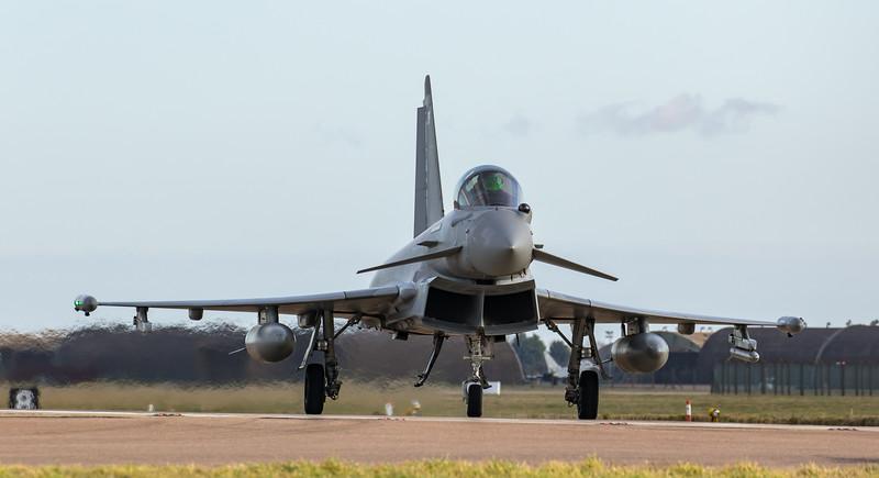 Eurofighter Typhoon - FGR4 - ZJ929 -  929 - RAF Coningsby (February 2019)