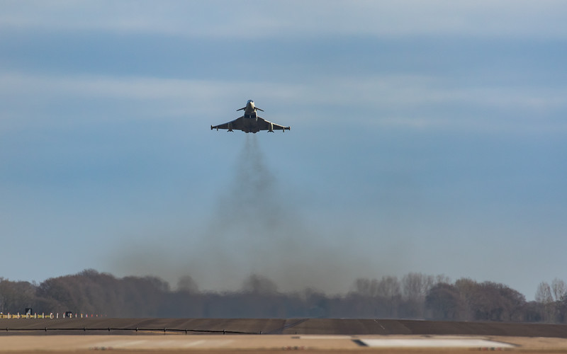 Eurofighter Typhoon - RAF Coningsby (February 2019)