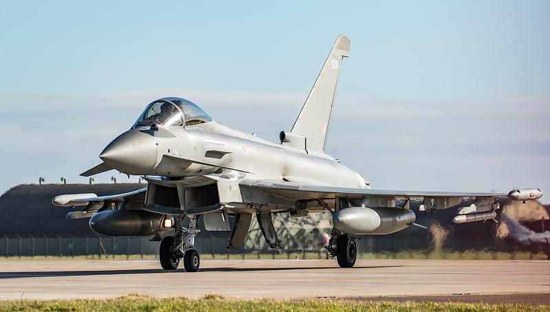 Eurofighter Typhoon - FGR4 - ZJ928 -  928 - RAF Coningsby (February 2019)