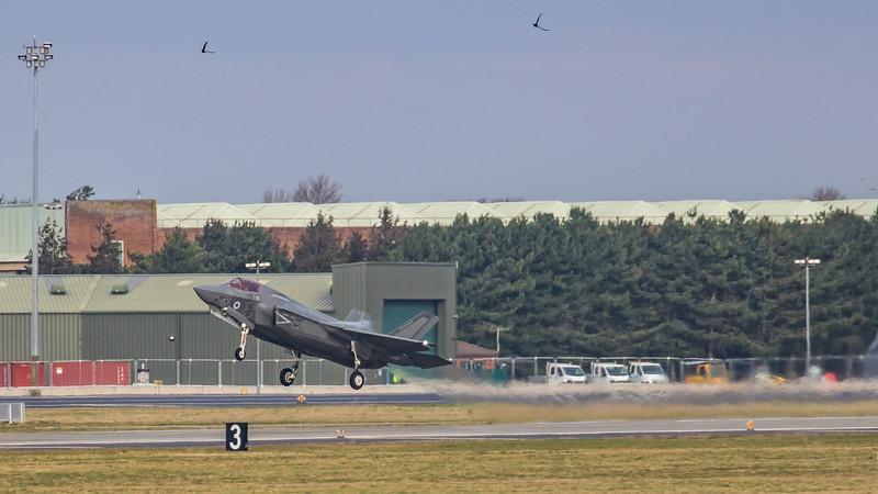 F35 Lightning II - RAF - ZM143 - Ghost11 - RAF Marham (February 2019)