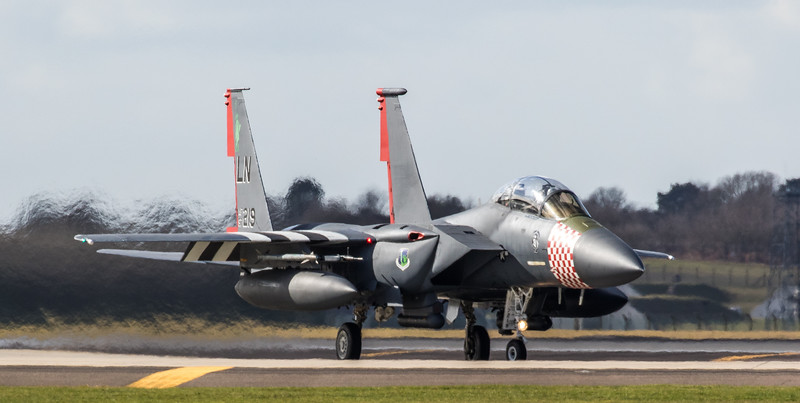 "F15-E Strike Eagle - 48FW - 492FS - LN AF 97-0219 ""Heritage Special"" - RAF Lakenheath (March 2019)"