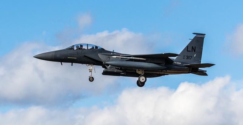 F15-E Strike Eagle - 48FW - 492FS - LN AF 91-0317 - RAF Lakenheath (March 2019)