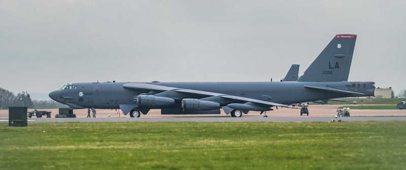 Boeing B-52H Stratofortress - USAF - 2BW - 96th BS - LA AF 60-0032 - RAF Fairford (March 2019)